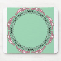 50's Era_Kitchen Mint Green-(c)_Unisex Mouse Pad