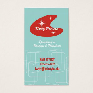50's Funk Business Card
