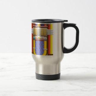 50s old fashioned jukebox travel mug
