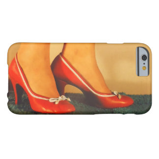 50s Red High Heels Barely There iPhone 6 Case