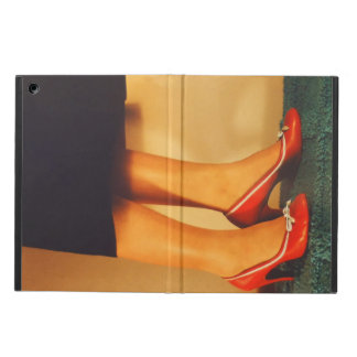 50s Red High Heels Cover For iPad Air