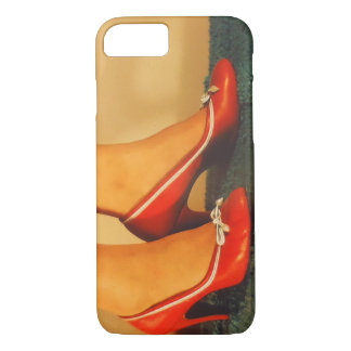 50s Red High Heels iPhone 8/7 Case