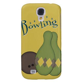 50s Retro Bowling Galaxy S4 Cases