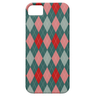 50s Retro Christmas Argyle iPhone 6 Plus Case