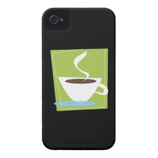 50s Retro Coffee Cup Graphic Case-Mate iPhone 4 Cases