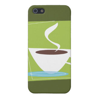 50s Retro Coffee Cup Graphic Case For iPhone SE/5/5s