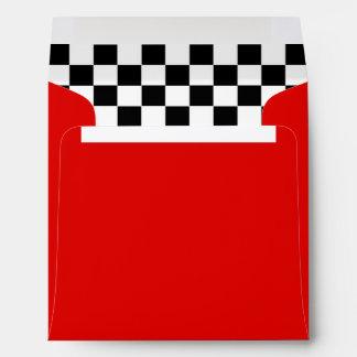 50s Retro Diner Envelope