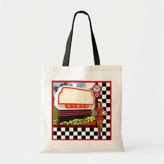 50s Retro Diner Tote Bag