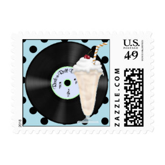 50s Rock and Roll Postage