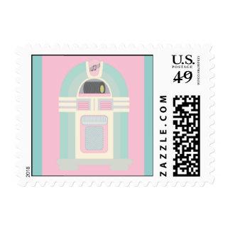 50's Sock Hop Postage Stamps