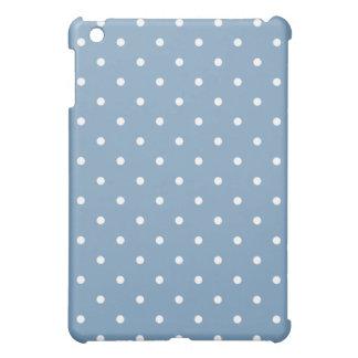 50's Style Polka Dot iPad Mini Case - Dusk Blue