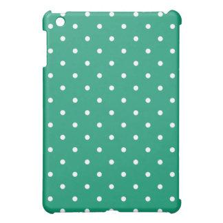 50's Style Polka Dot iPad Mini Case -Emerald Green