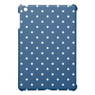 50's Style Polka Dot iPad Mini Case - Monaco Blue