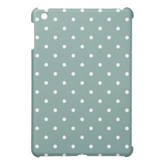 50's Style Polka Dot iPad Mini Case - Retro Blue