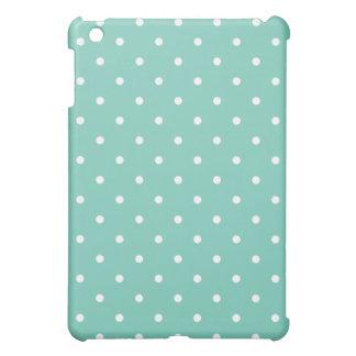 50's Style Polka Dot iPad Mini Case - Turquoise