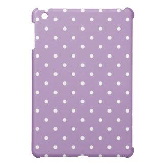 50's Style Polka Dot iPad Mini Case - Violet