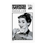50's tea/coffee postage stamps