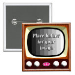50s Television Template Pin