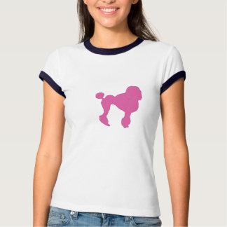 50s Vintage Pink Felt Poodle T-Shirt