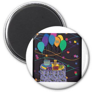 50th 2 inch round magnet