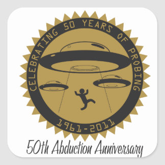 50th Abduction Anniversary Stickers