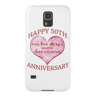 50th. Anniversary Case For Galaxy S5