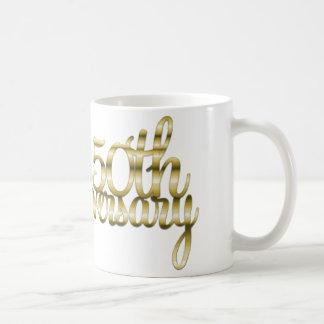 50th Anniversary Coffee Mug