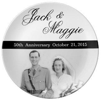 50th Anniversary | Commemorative Plate Porcelain Plates