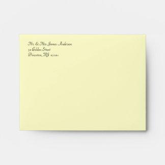 50th Anniversary - Custom Invitation Envelopes