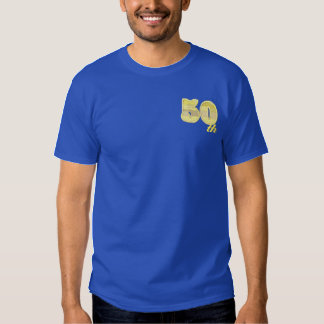 50th Anniversary Embroidered T-Shirt