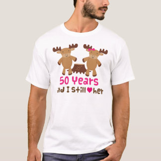 50th Anniversary Gift For Him T-Shirt