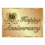 50th Anniversary - Gold Card