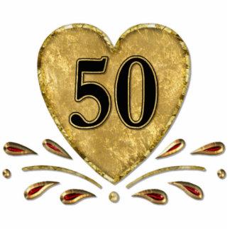 50th Anniversary - Gold Cutout