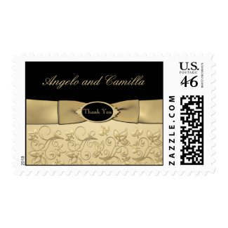 50th Anniversary Gold Postage stamp