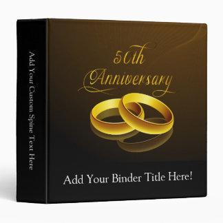 50th Anniversary | Gold Script Binder