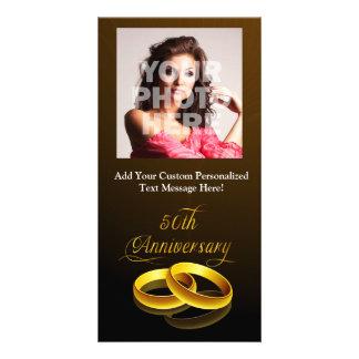 50th Anniversary | Gold Script Card