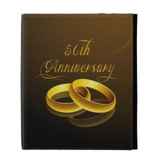 50th Anniversary | Gold Script iPad Folio Cases