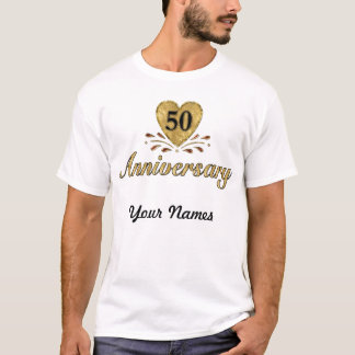 50th Anniversary - Gold T-Shirt