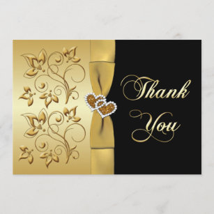 Anniversary Thank You Cards Zazzle