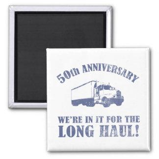50th Anniversary Humor (Long Haul) Magnet