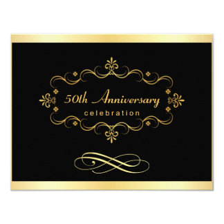 50th Anniversary Invitations - Special Bargain