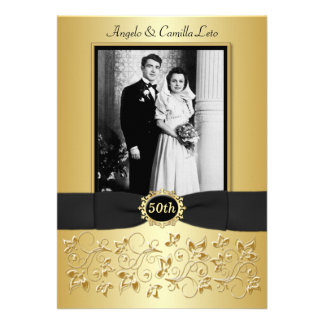 50th Anniversary Invite - DO NOT USE GOLD PAPER