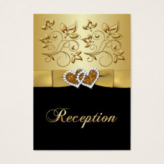 50th Anniversary Joined Hearts 2 Enclosure Card