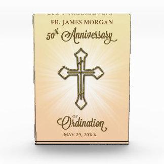 50th Anniversary of Ordination, Gold Cross on Star Award