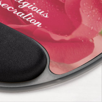 50th Anniversary of Religious Consecration Pink Ro Gel Mouse Pad