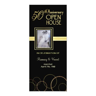 50th Anniversary Open House - Photo Optional Card