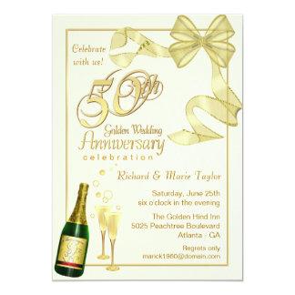 50th Anniversary Party - Bargain Invitations