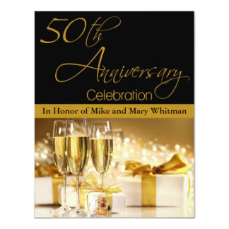 50th Anniversary Party Invitation