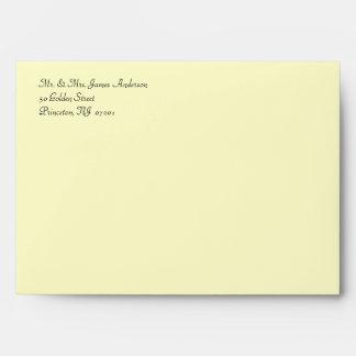 50th Anniversary Party Invitation Envelopes