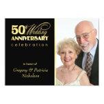 50th Anniversary Party - Photo Invitations